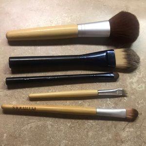 Face eye brushes set
